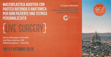 Dottor Stefano Marianelli – Live surgery